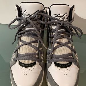 d54fc6fd852 Jordan Shoes | Nike Air Flight 23 Rst Sz 10 Gray White | Poshmark